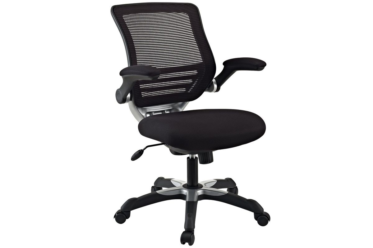 Edge Mesh Office Chair in Black by Modway from Gardner-White Furniture
