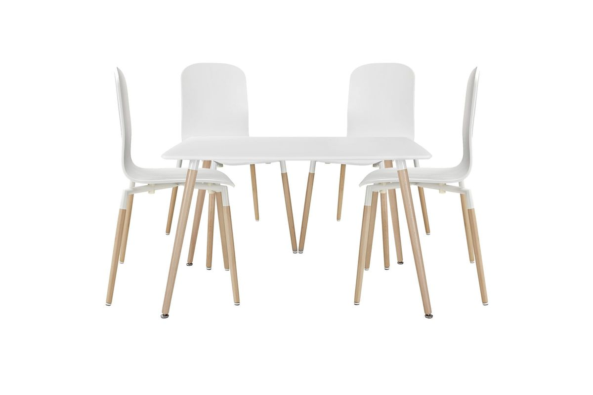 Stack 5 Piece Dining Set by Modway from Gardner-White Furniture