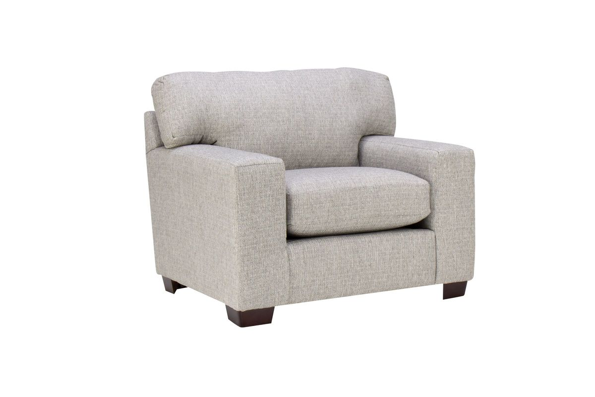 Sandra Chair in Medium Grey from Gardner-White Furniture