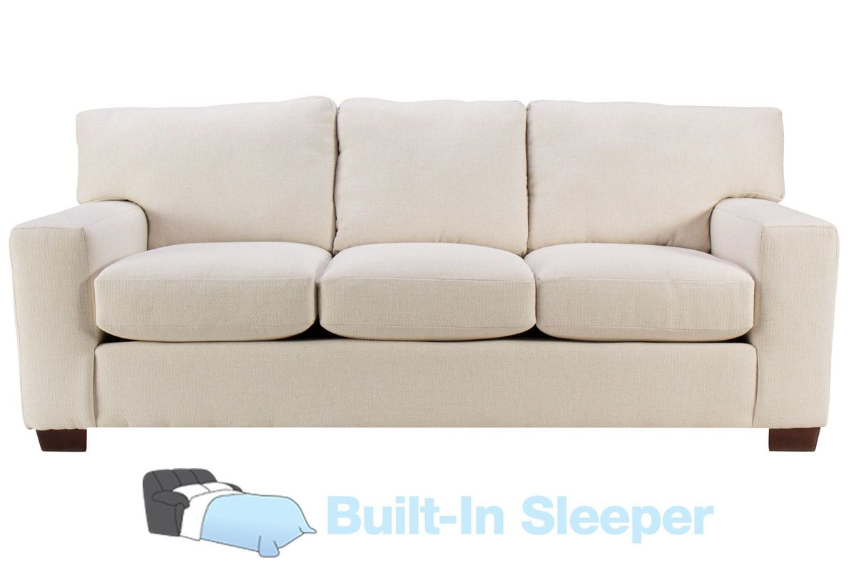 Sandra Sofa Sleeper in Glacier Cream from Gardner-White Furniture