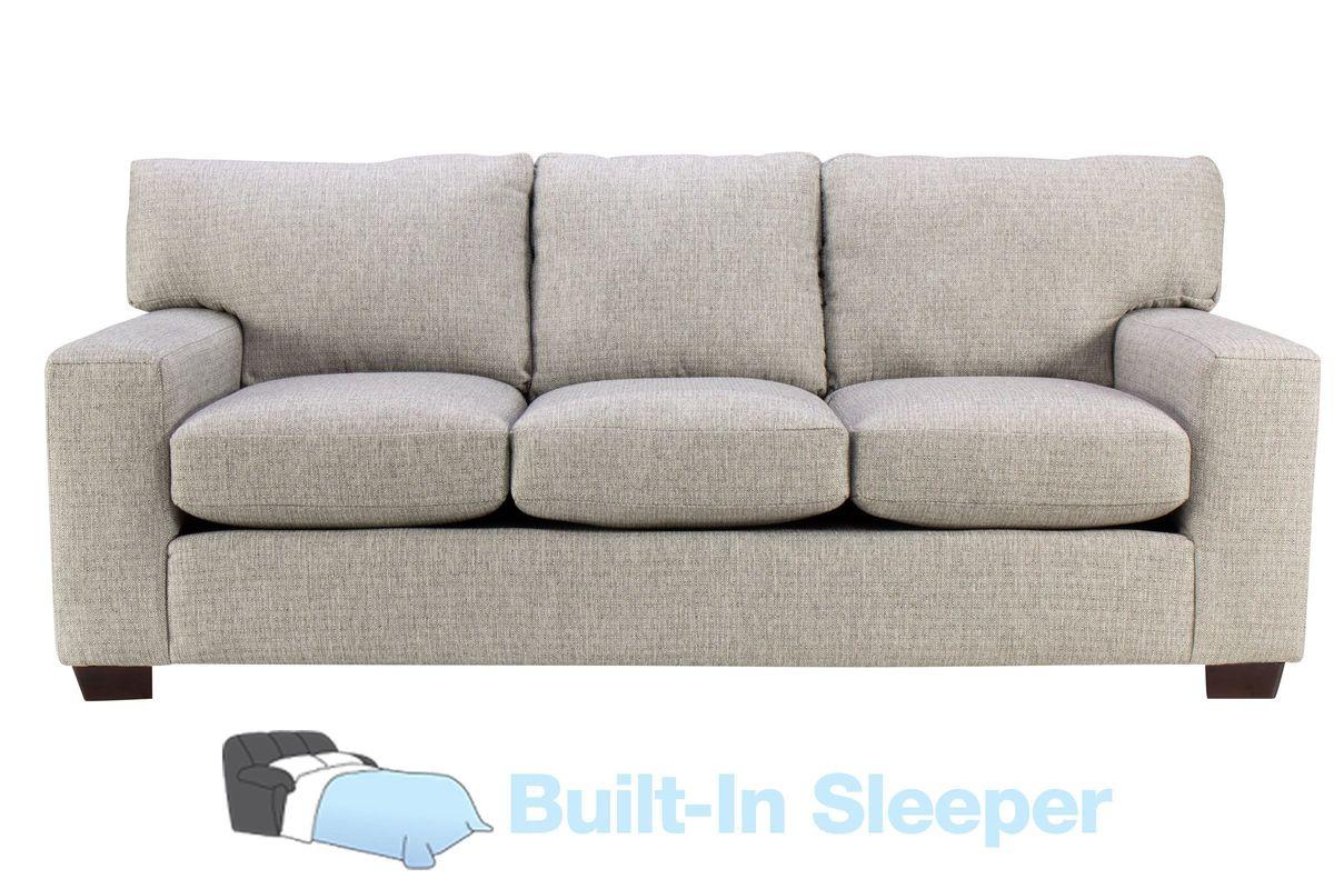 Sandra Sofa Sleeper in Medium Grey from Gardner-White Furniture