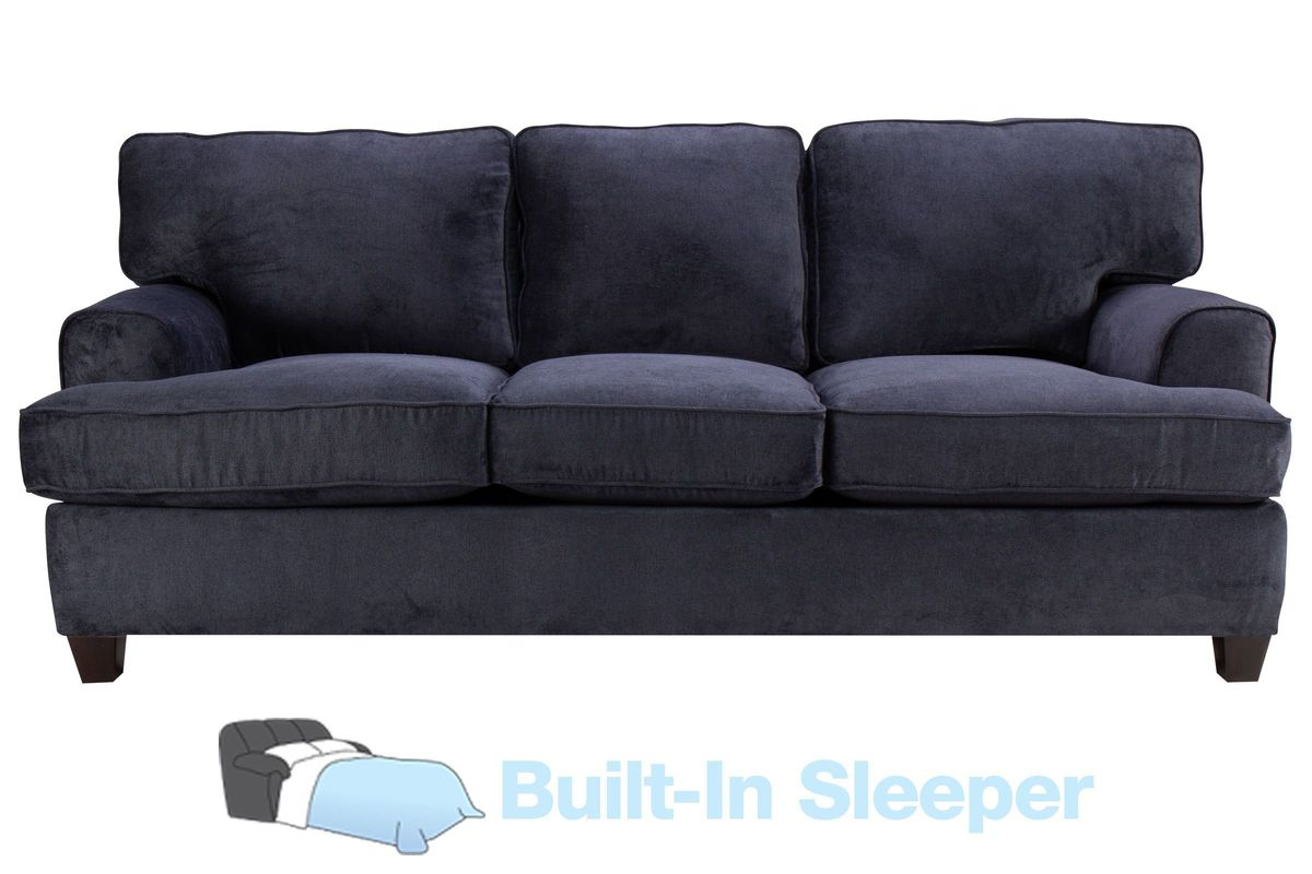 Diana Sofa Sleeper In Navy Blue From Gardner White Furniture