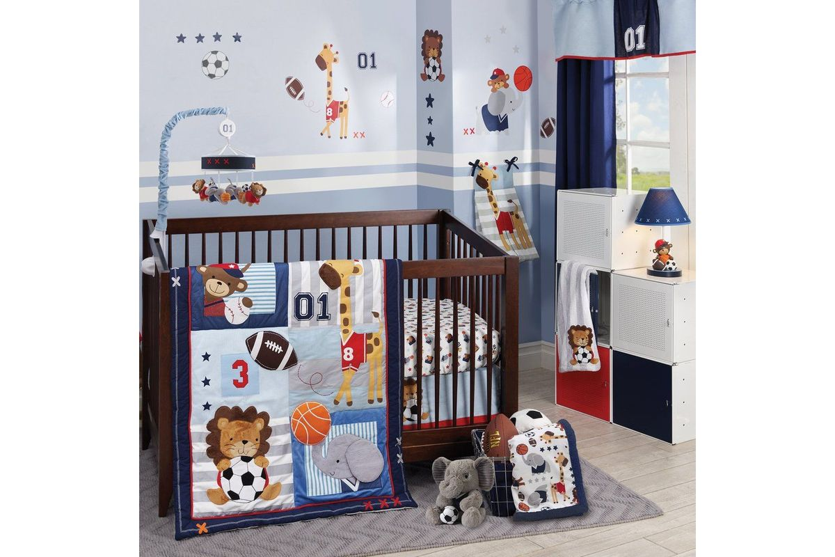 Future All Star 4 Piece Crib Bedding Set By Lambs Amp Ivy