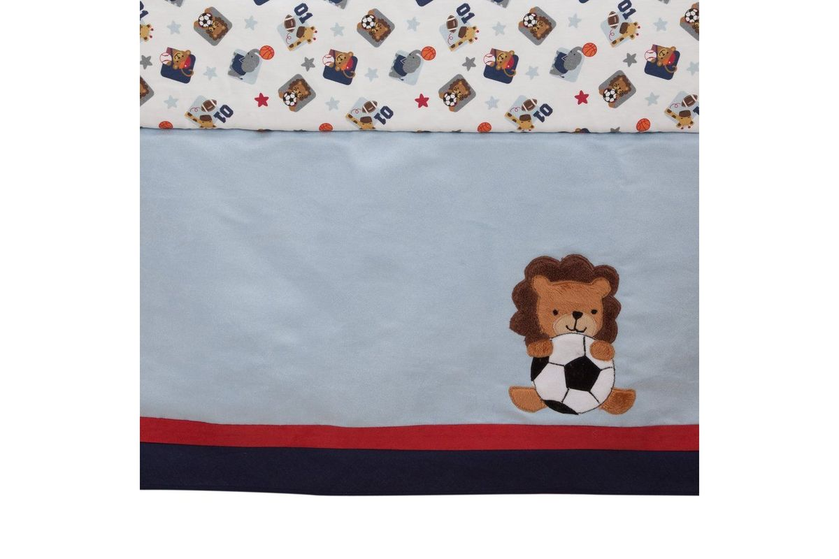 Future All Star 4-Piece Crib Bedding Set by Lambs & Ivy
