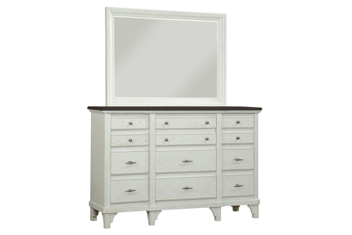 Mystic Dresser + Mirror from Gardner-White Furniture