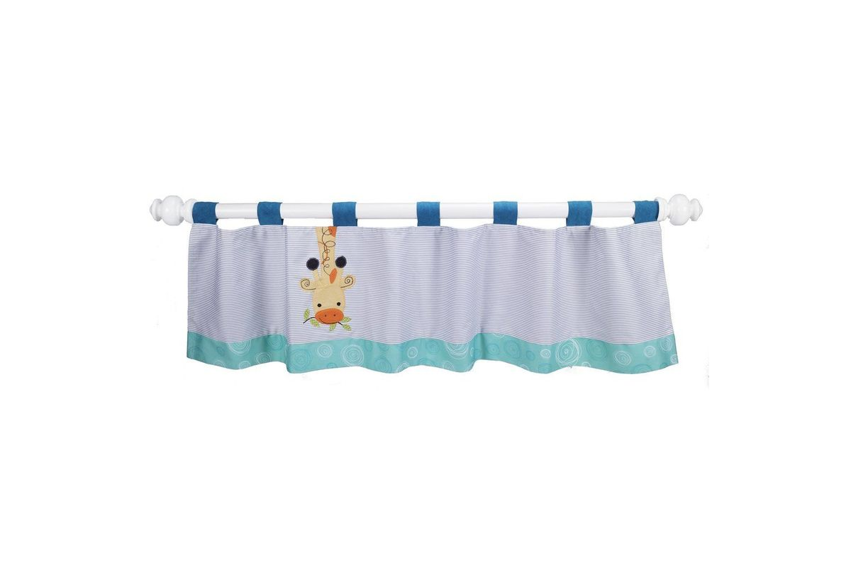 Yoo-Hoo Window Valance by Lambs & Ivy from Gardner-White Furniture