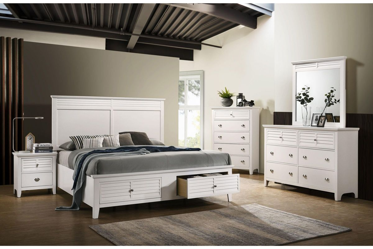 Harbor King Storage Bed from Gardner-White Furniture