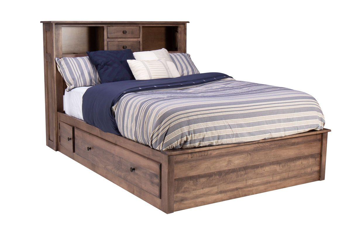 Lewiston King Storage Bed from Gardner-White Furniture