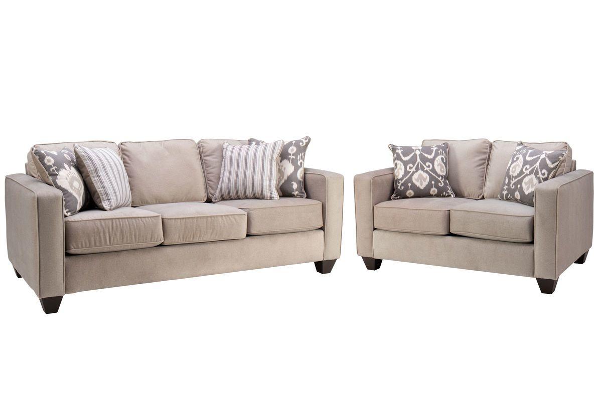 Brunswick Sofa + Loveseat from Gardner-White Furniture