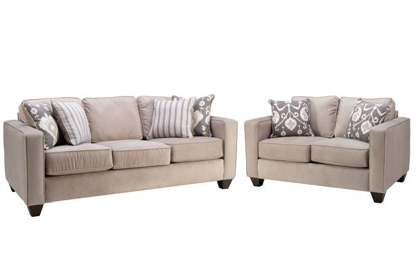 Brunswick Sofa + Loveseat