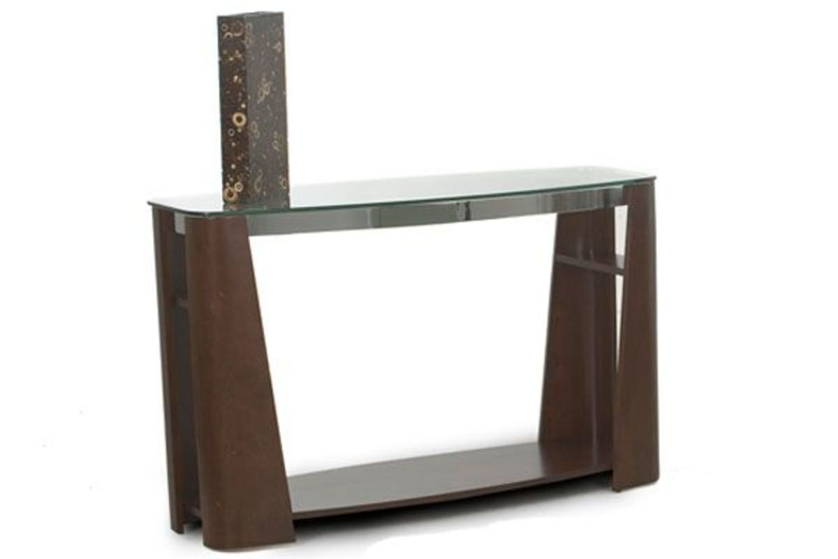 Super Dark Cherry Glass Sofa Table Beutiful Home Inspiration Truamahrainfo