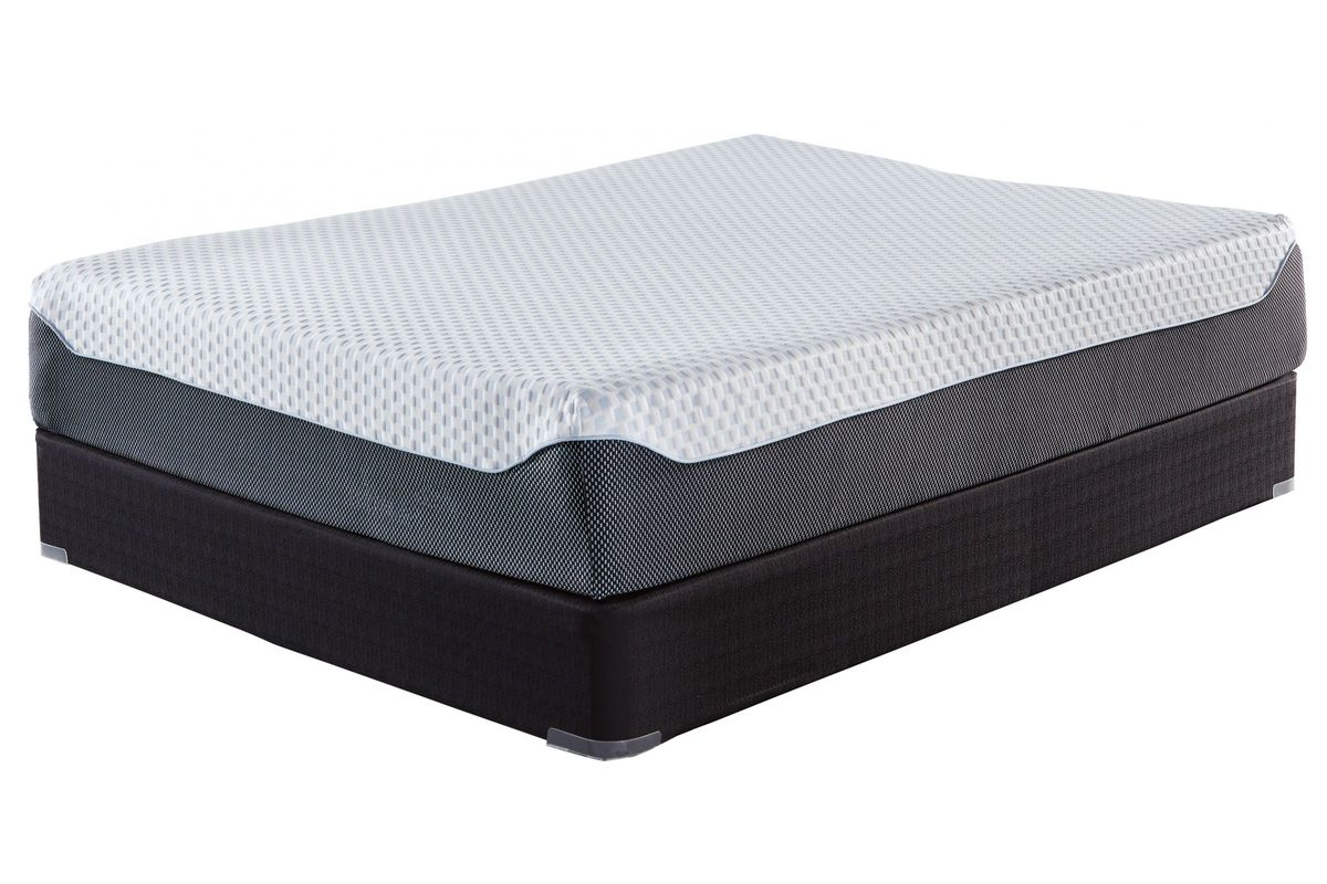 Sierra Sleep® 12 Inch Chime Elite Queen Bed in a Box by Ashley from Gardner-White Furniture