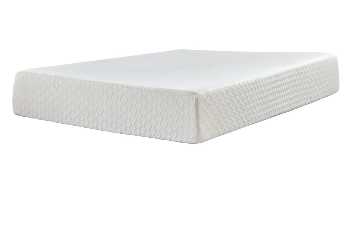 Sierra Sleep® Chime 12 Inch Memory Foam King Bed in a Box by Ashley from Gardner-White Furniture