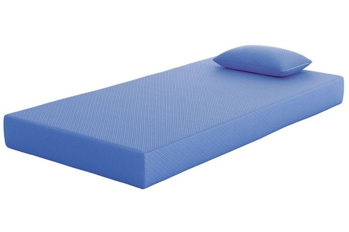 iKidz Blue Twin Mattress with FREE Pillow by Ashley from Gardner-White Furniture