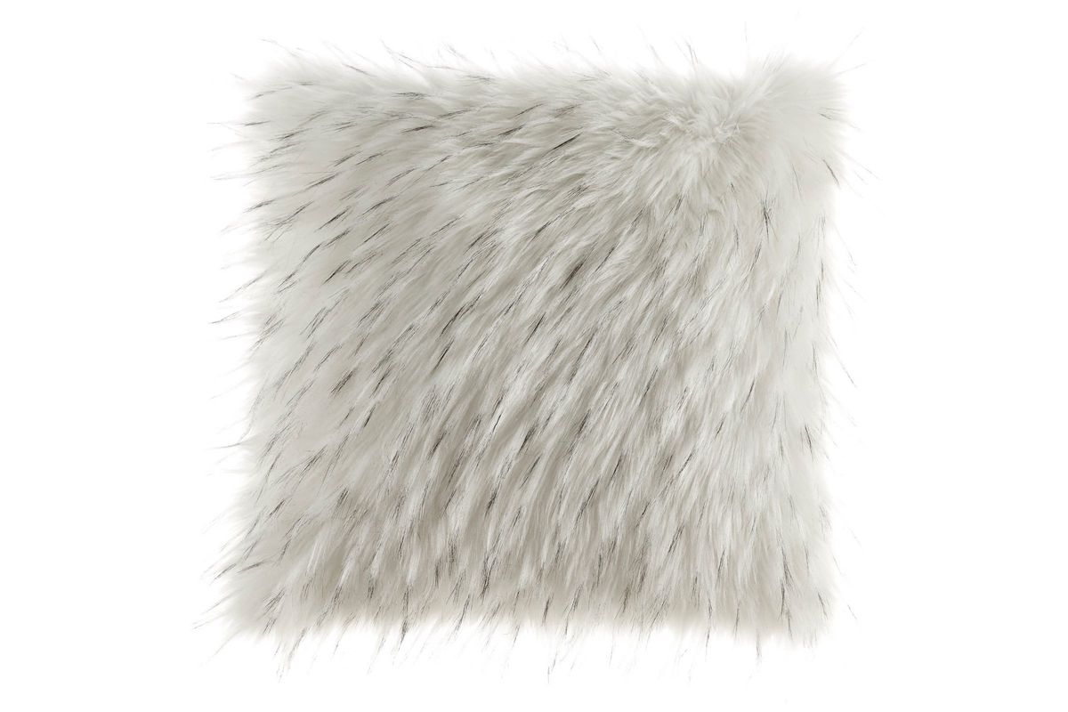 Calisa Faux Fur Pillow by Ashley from Gardner-White Furniture