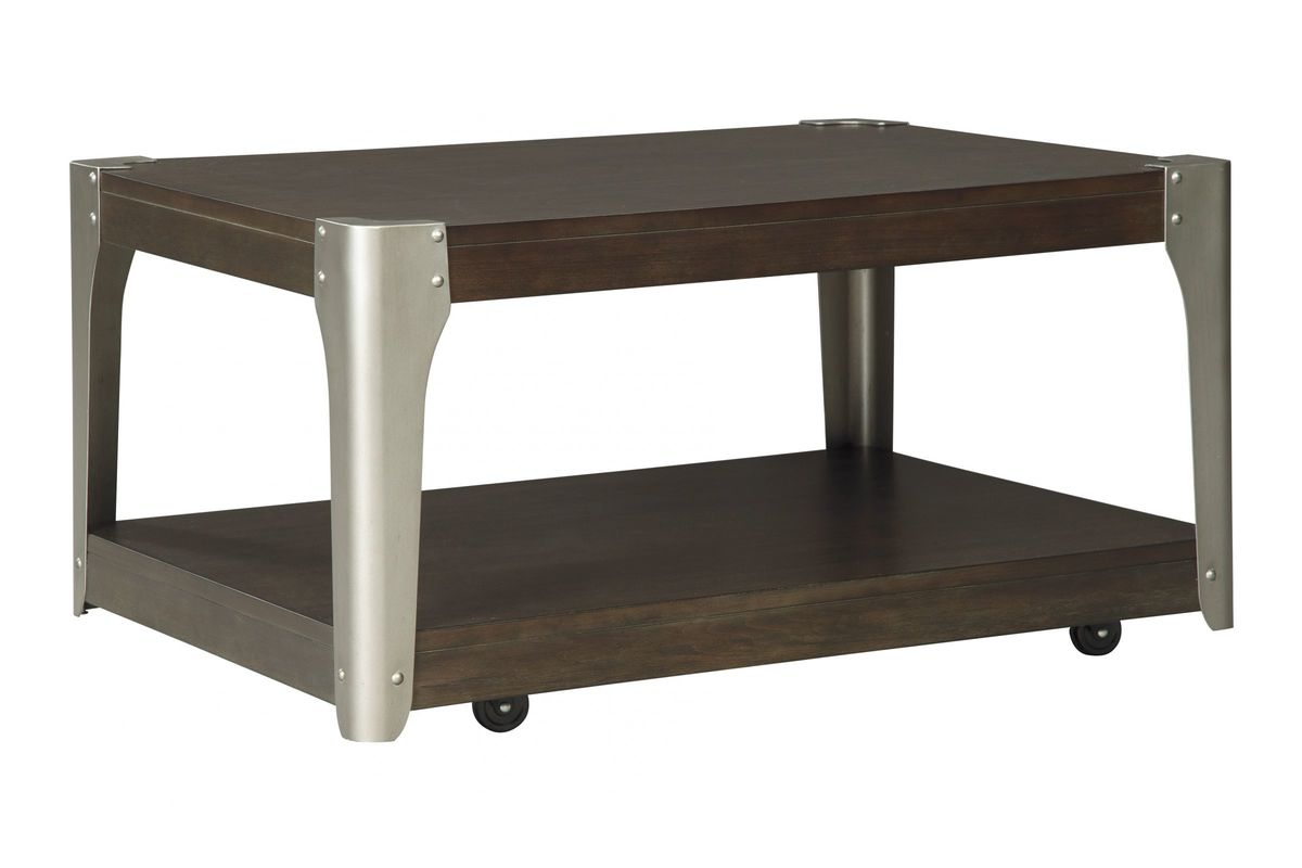 Geriville Rectangular Cocktail Table By Ashley From Gardner White Furniture
