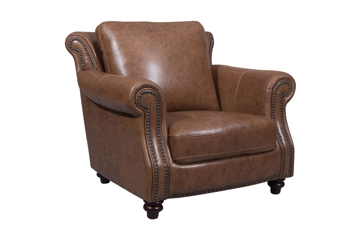 Richmond Leather Chair from Gardner-White Furniture