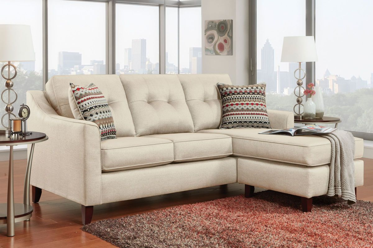 Crest Sofa with Moveable Chaise from Gardner-White Furniture
