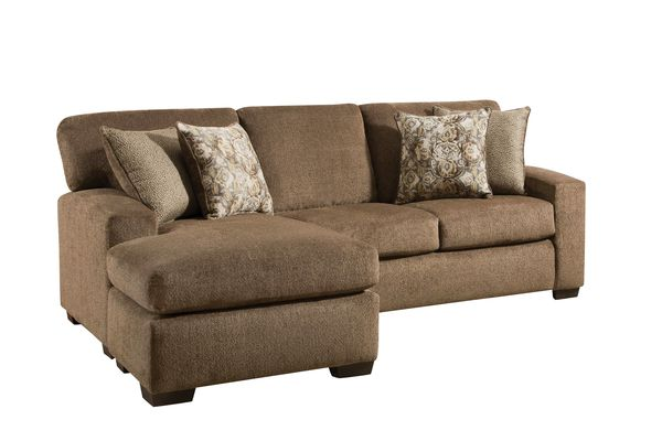 Asian style sofas with chaise lounge