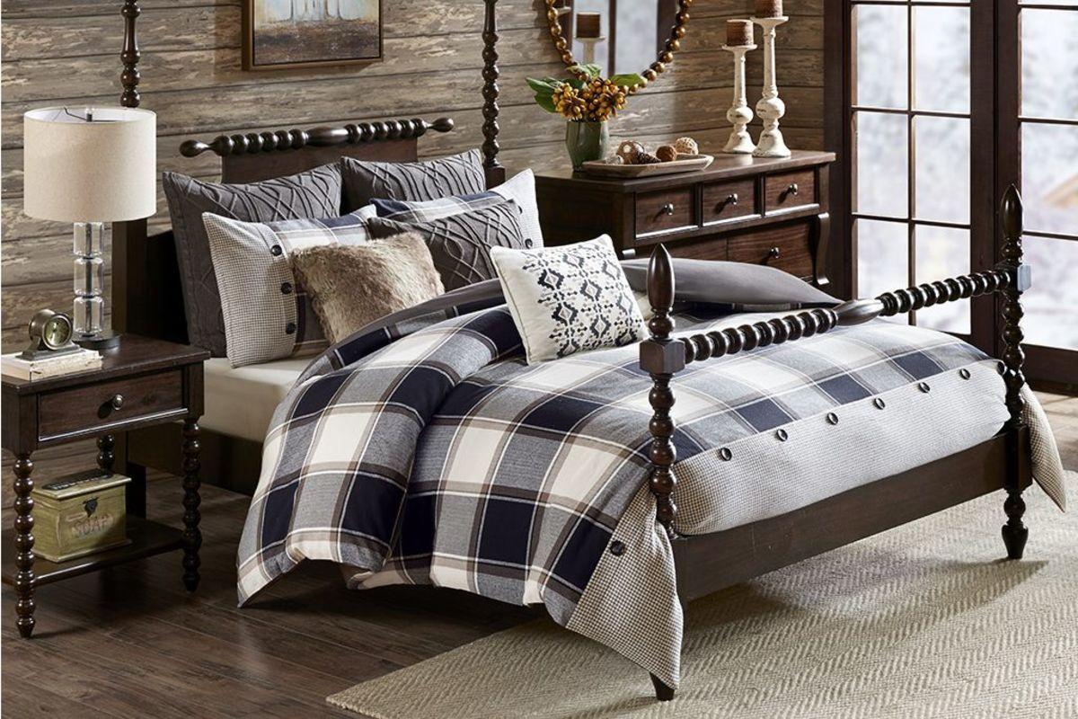 8-Piece Queen Cabin Comforter Set from Gardner-White Furniture
