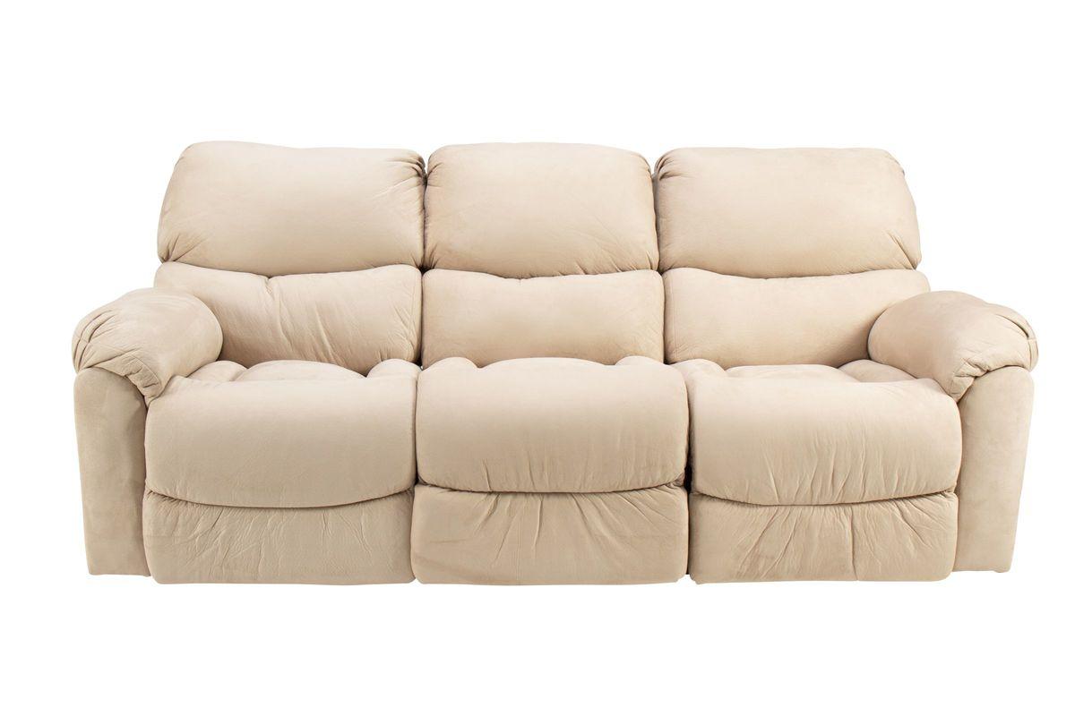 Peachy Hazel Microfiber Reclining Sofa At Gardner White Pabps2019 Chair Design Images Pabps2019Com