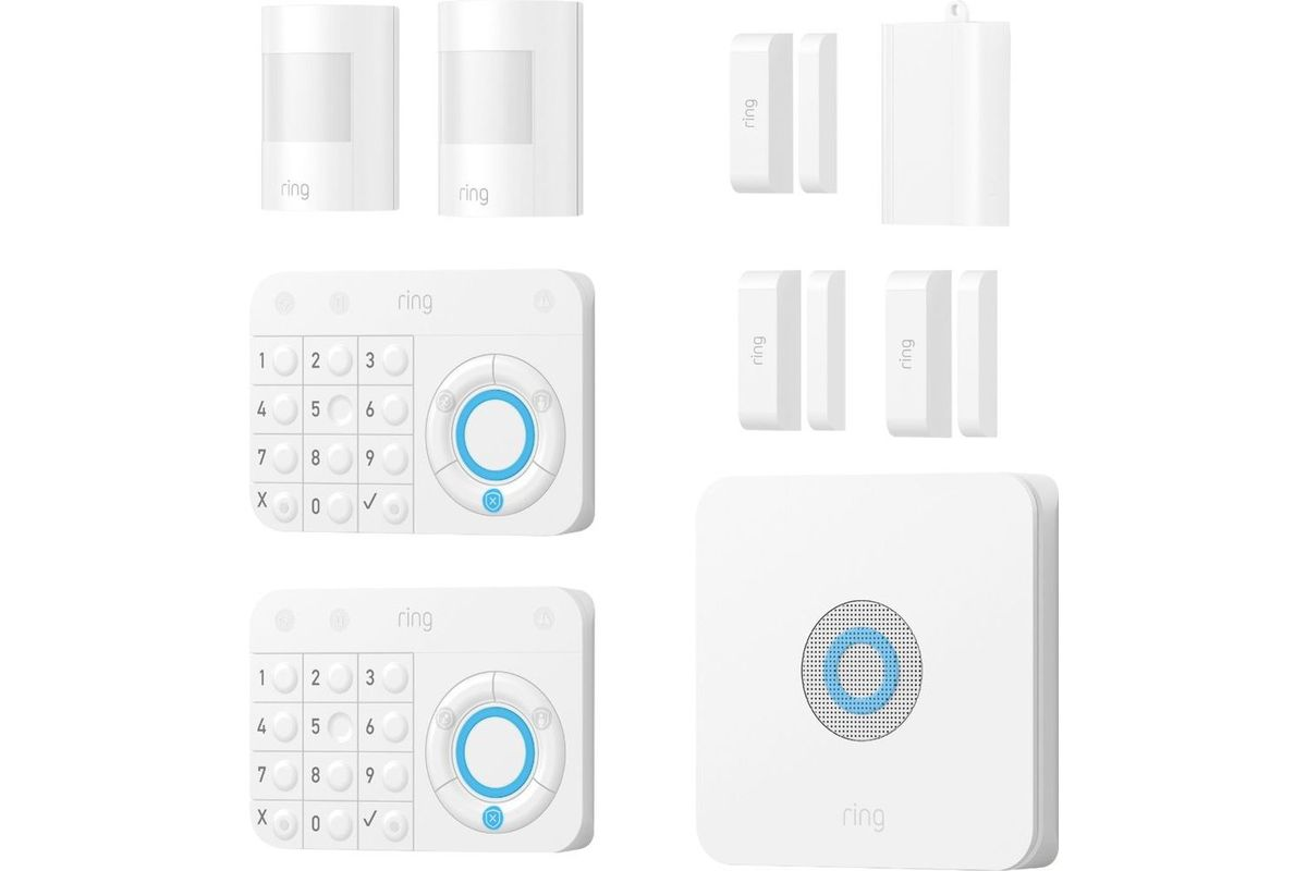 ring protect kit home security system starter kit at gardner