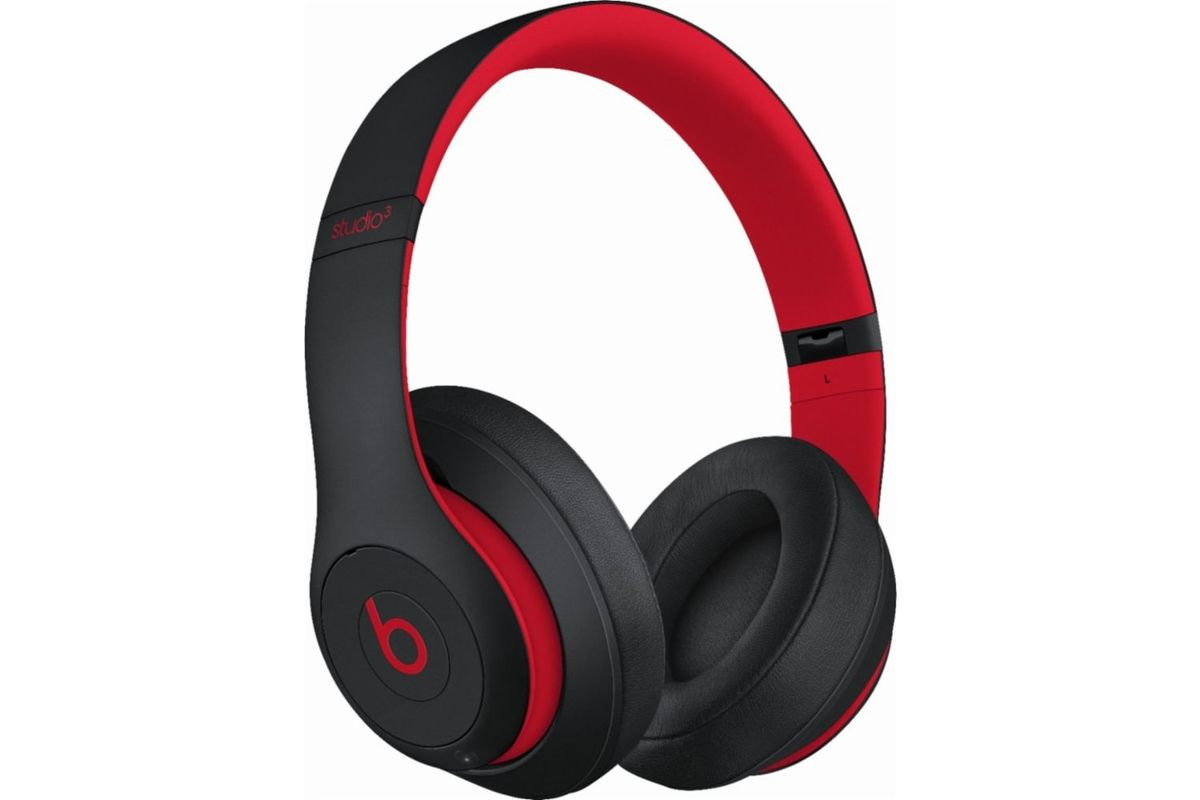 Beats Studio3 The Beats Decade Collection Headphones in Red from Gardner-White Furniture