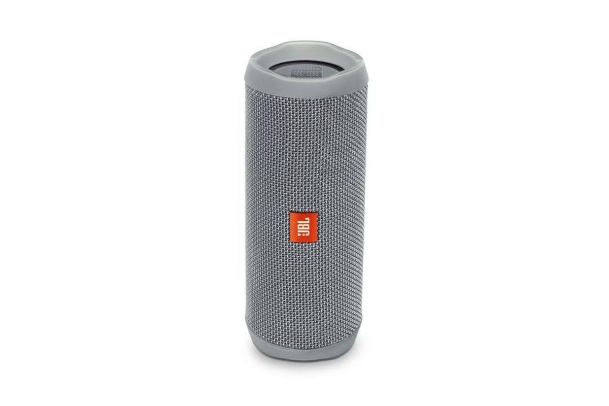 JBL Flip 4 Portable Wireless Speaker in Grey from Gardner-White Furniture
