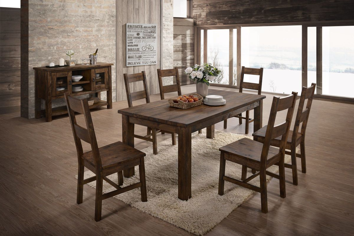 Glenview Dining Table 6 Side Chairs At Gardner White