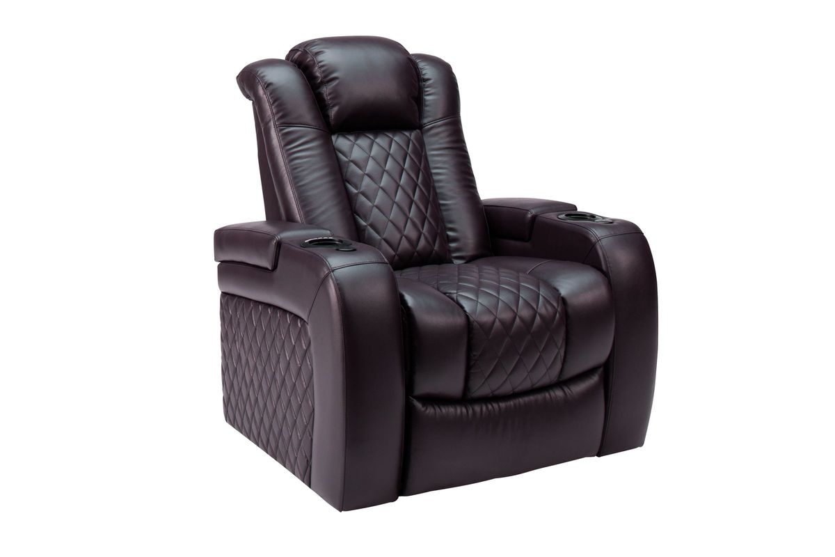 Marcus Recliner with Power Head/Foot Rests from Gardner-White Furniture
