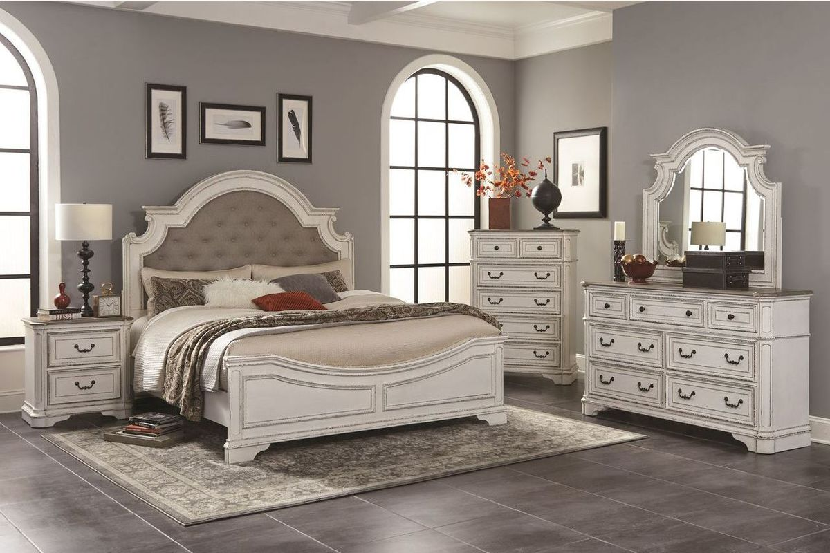 queen bedroom set Isabella 5-Piece Queen Bedroom Set from Gardner-White Furniture