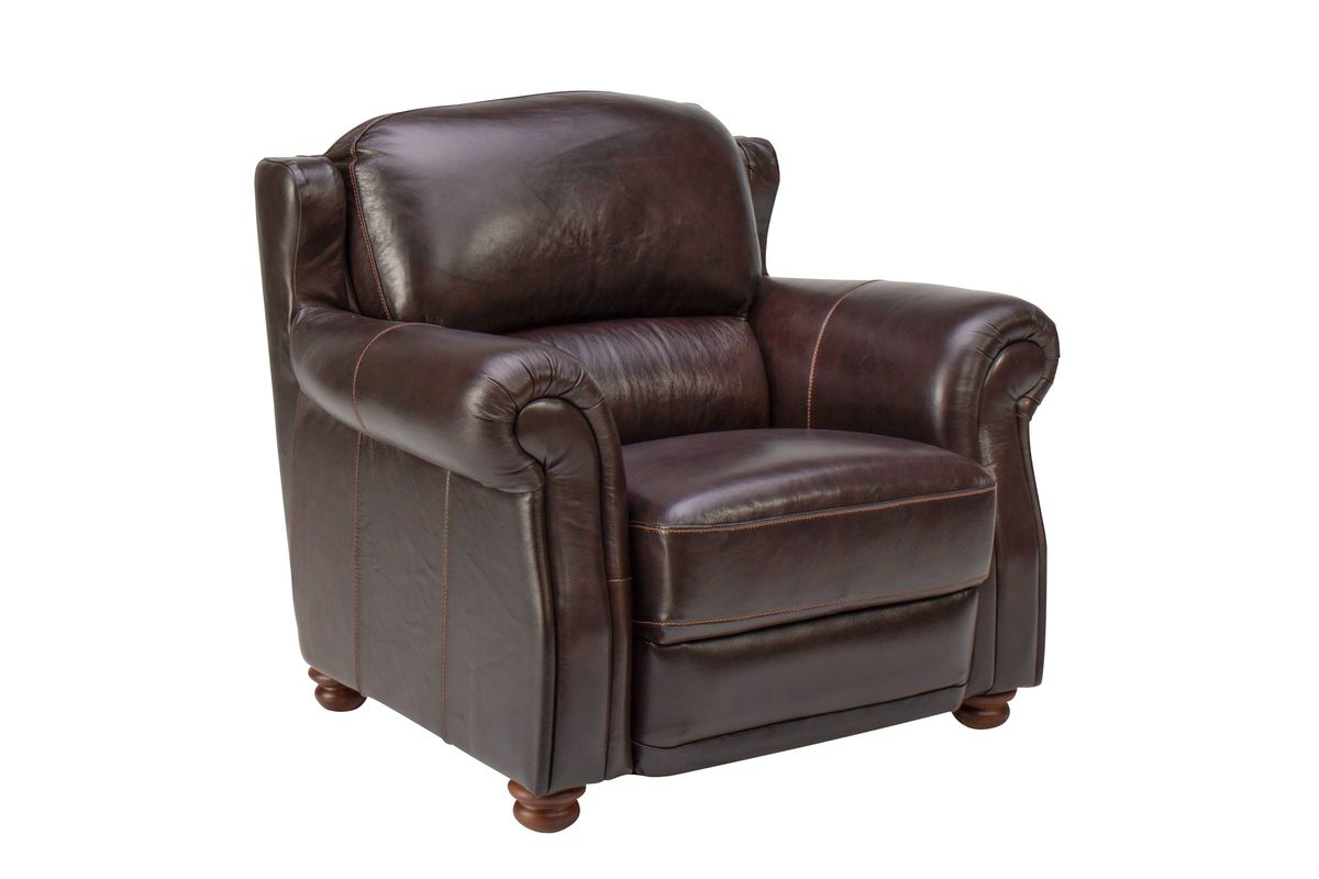 Brownstone Leather Chair from Gardner-White Furniture