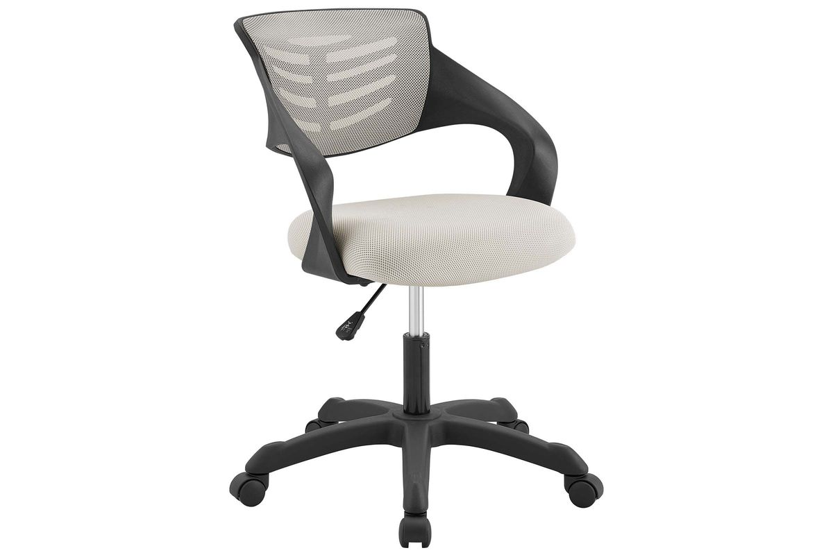 Thrive Mesh Office Chair In Grey By Modway