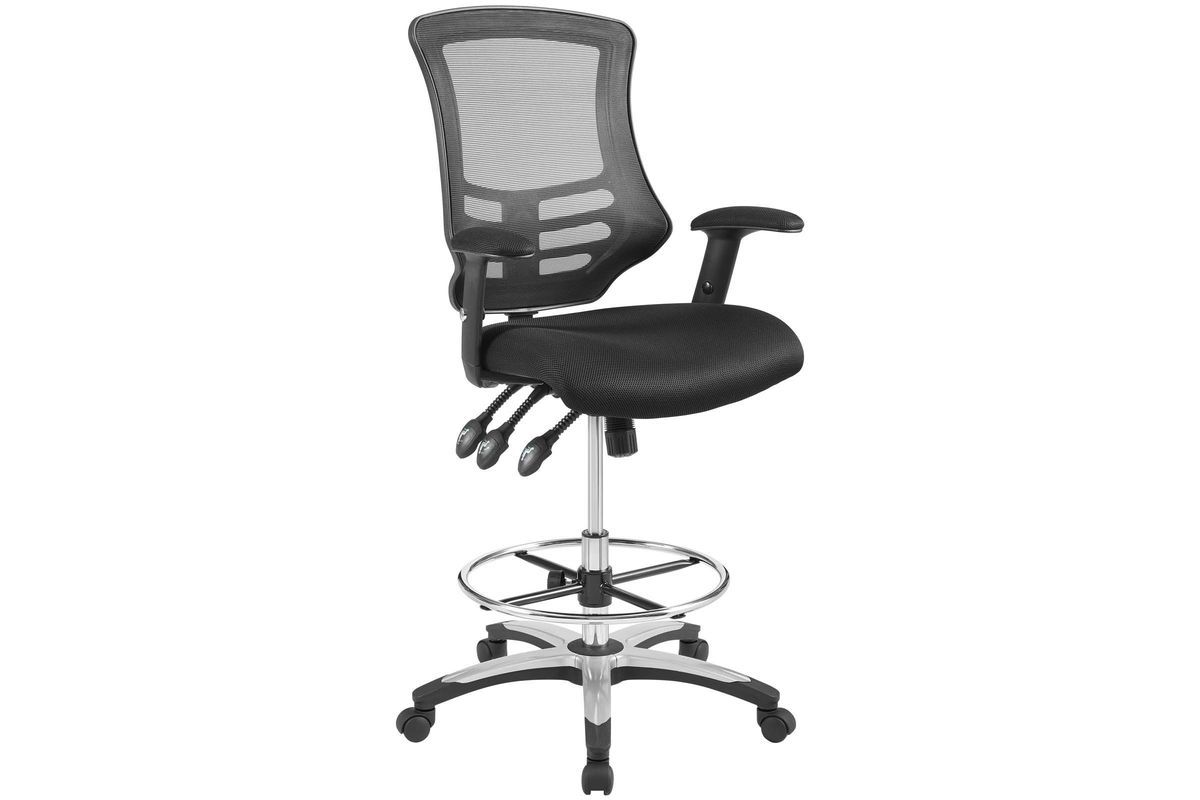 Calibrate Mesh Drafting Chair by Modway from Gardner-White Furniture