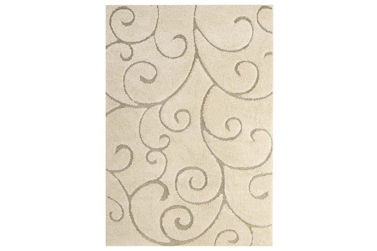 Burgeon Scrolling Vine 5x8 Shag Area Rug by Modway from Gardner-White Furniture
