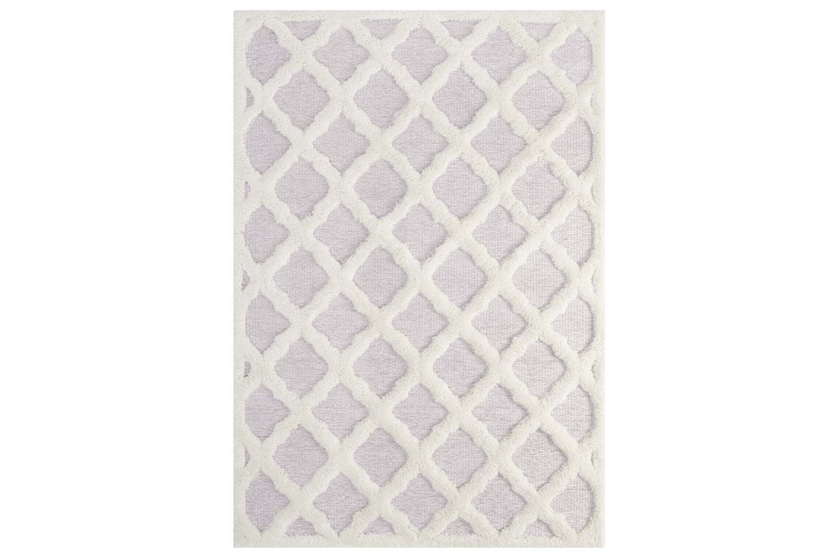 Regale Abstract Moroccan Trellis 5x8 Shag Area Rug by Modway from Gardner-White Furniture