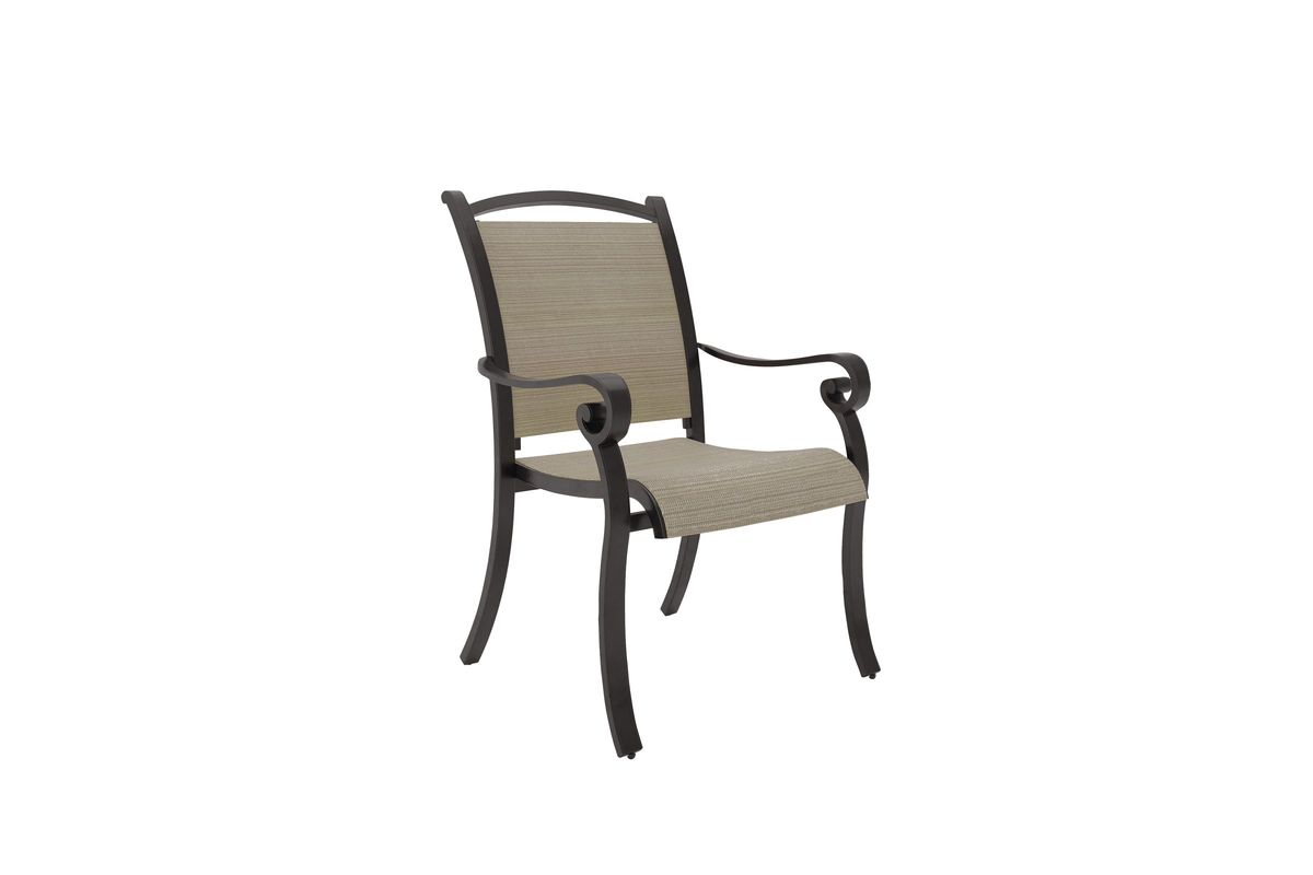 Bass Lake Dining Chair in Beige Set of Four by Ashley® from Gardner-White Furniture