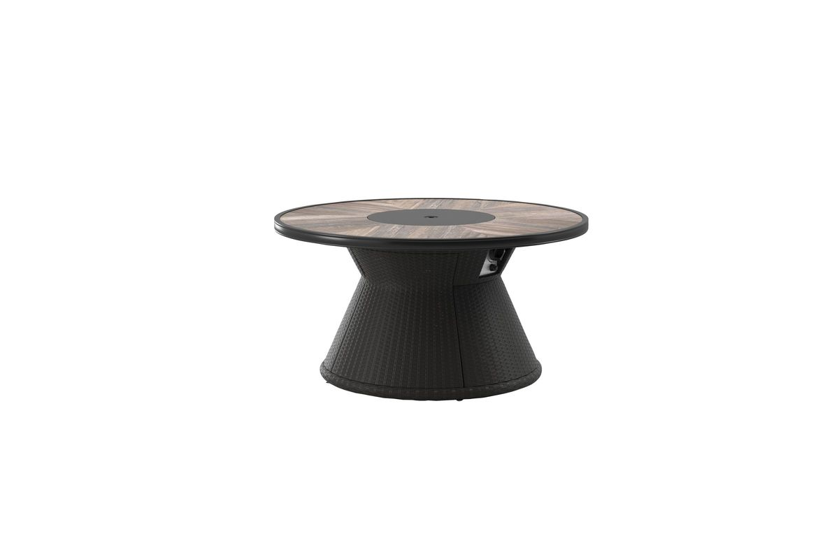Marsh Creek Outdoor Fire Pit Table by Ashley® from Gardner-White Furniture