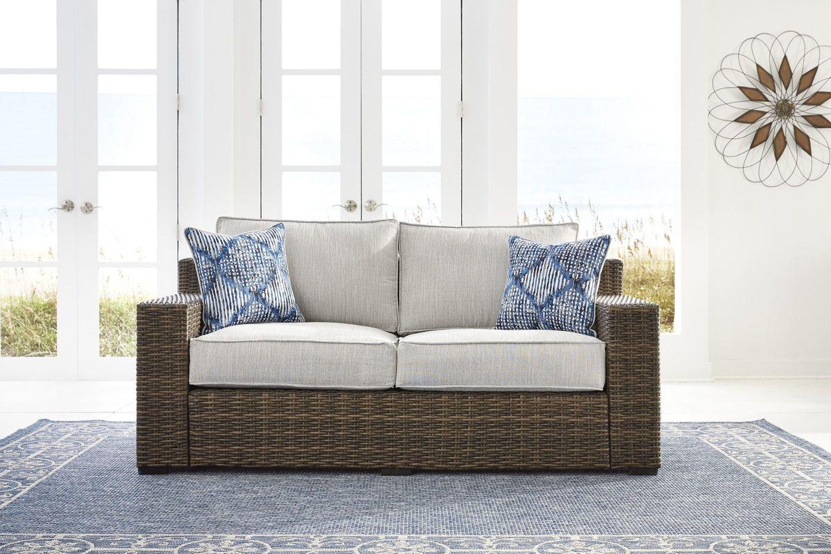 Terrific Alta Grande Loveseat By Ashley Short Links Chair Design For Home Short Linksinfo