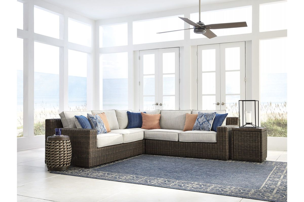 Alta Grande Sectional  by Ashley® from Gardner-White Furniture