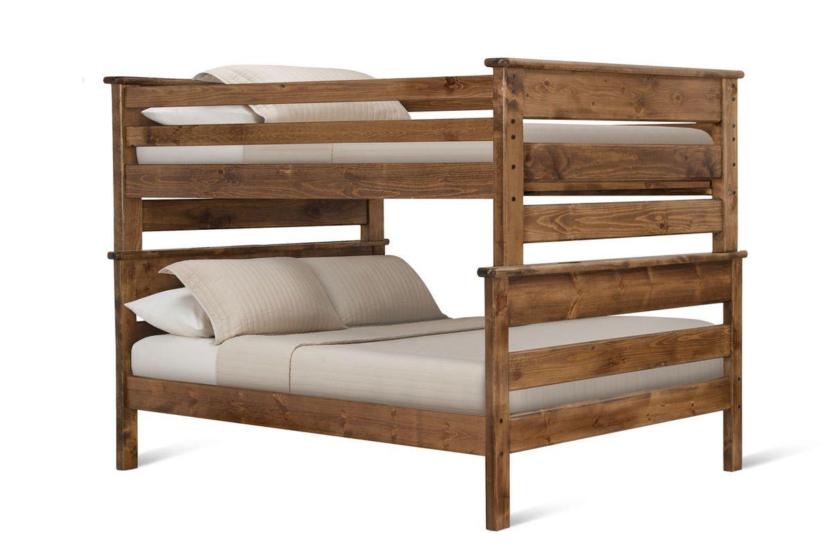 Laguna Chestnut Full-Over-Full Bunk Bed from Gardner-White Furniture