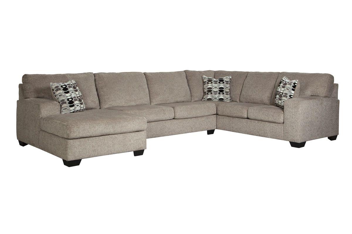 Peyton 3-Piece Sectional + Ottoman from Gardner-White Furniture