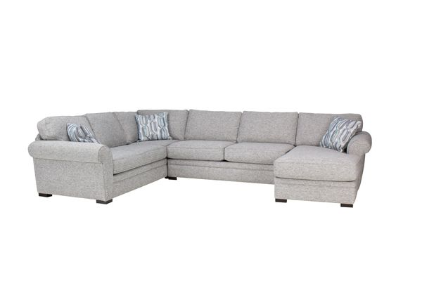 Whitney Sectional With Chaise On The Right