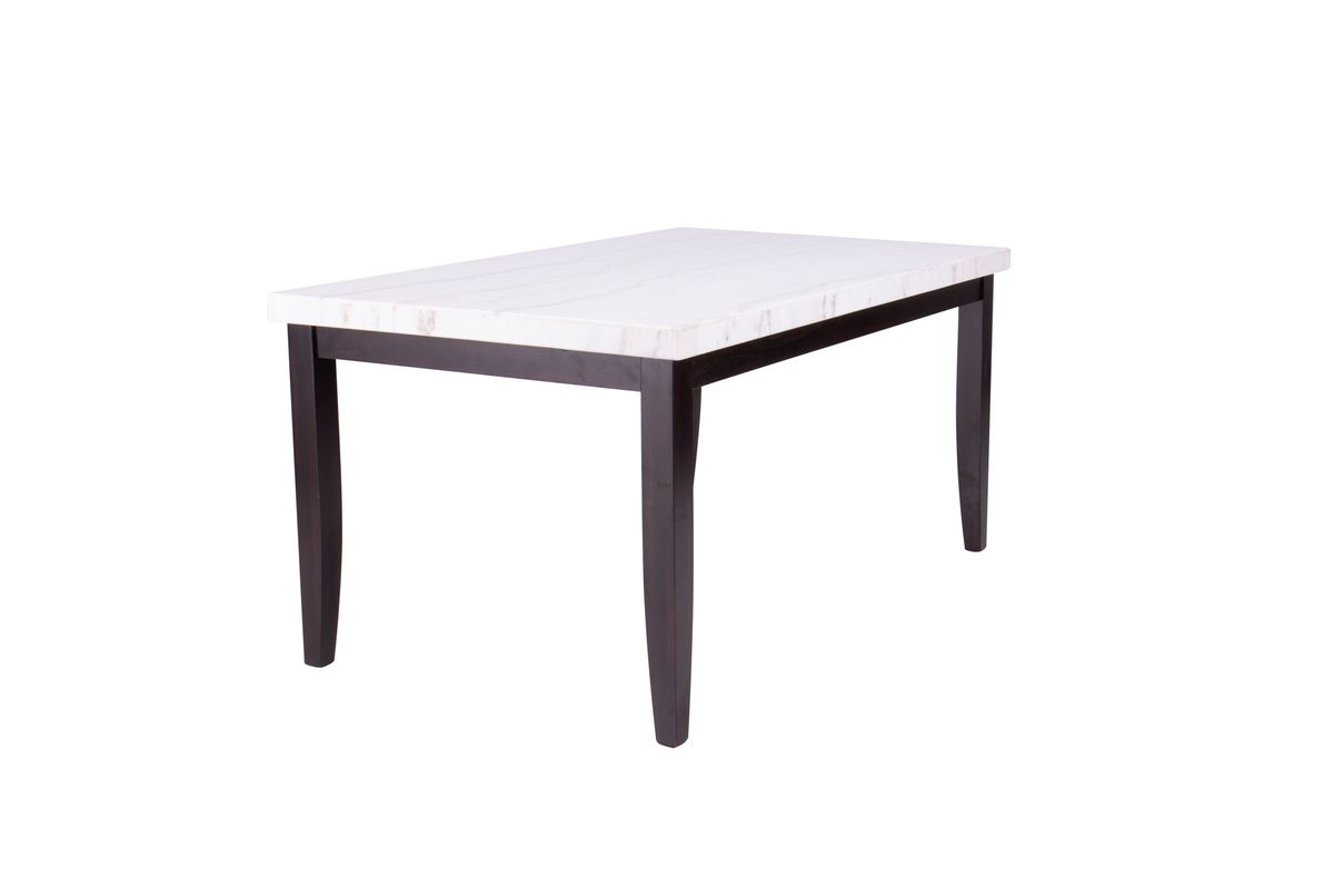 Westby Genuine White Marble Table from Gardner-White Furniture