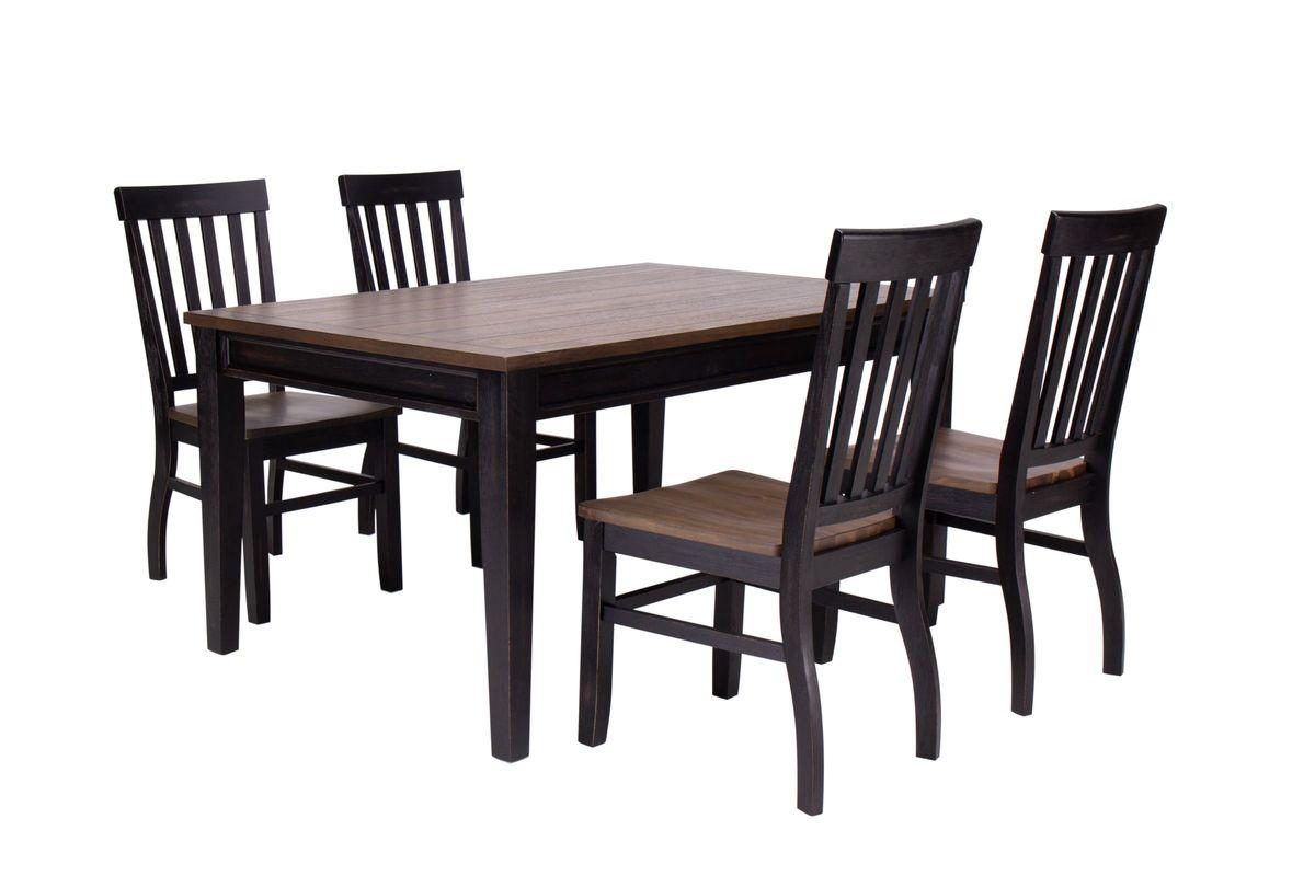 Dorado Table 4 Side Chairs At Gardner White