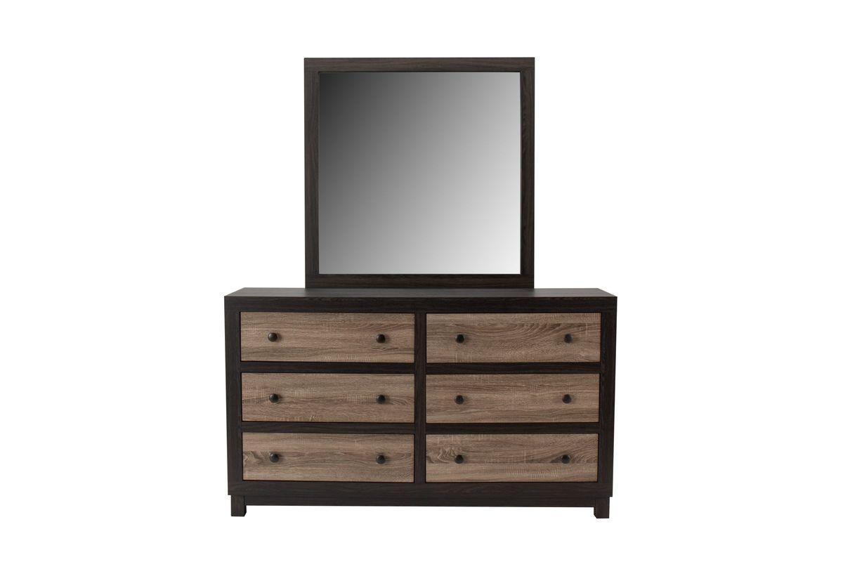 Panama Dresser & Mirror from Gardner-White Furniture