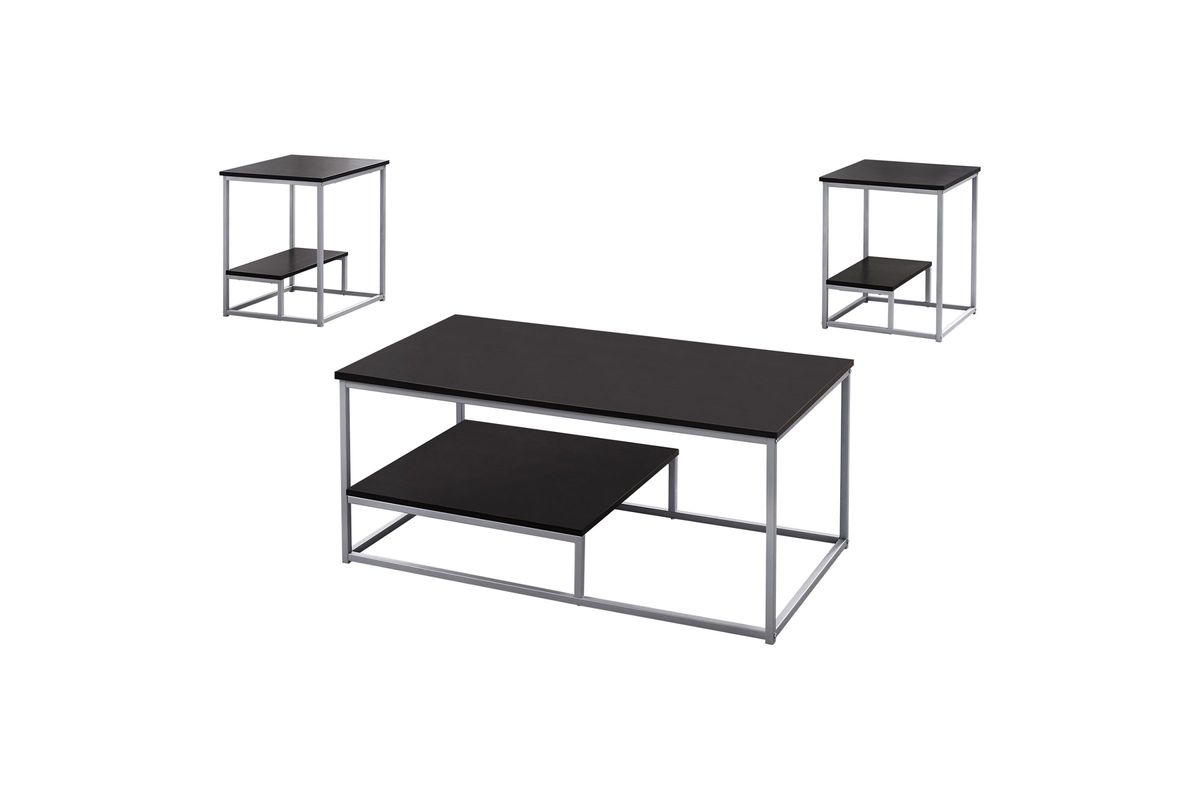 Cappuccino 3-Piece Table Set by Monarch from Gardner-White Furniture
