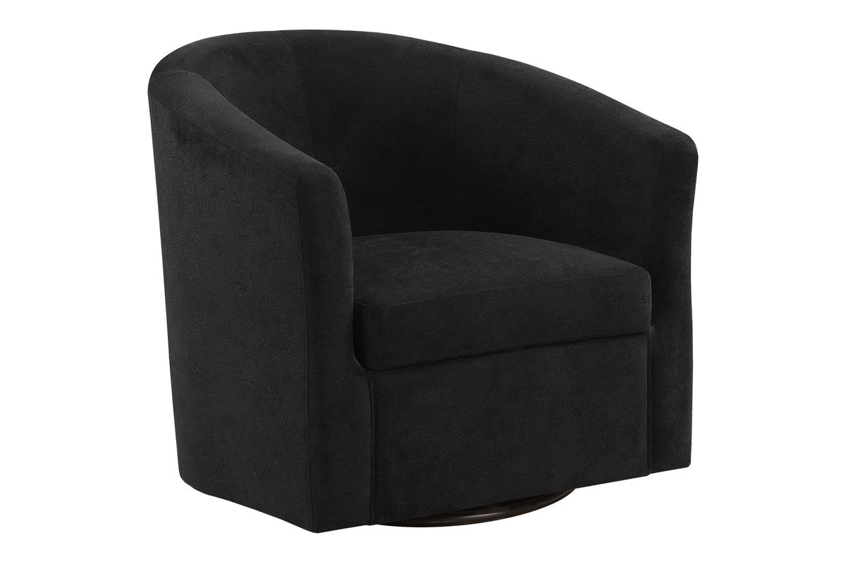 Miraculous Black Velvet Abstract Swivel Accent Chair By Monarch Evergreenethics Interior Chair Design Evergreenethicsorg