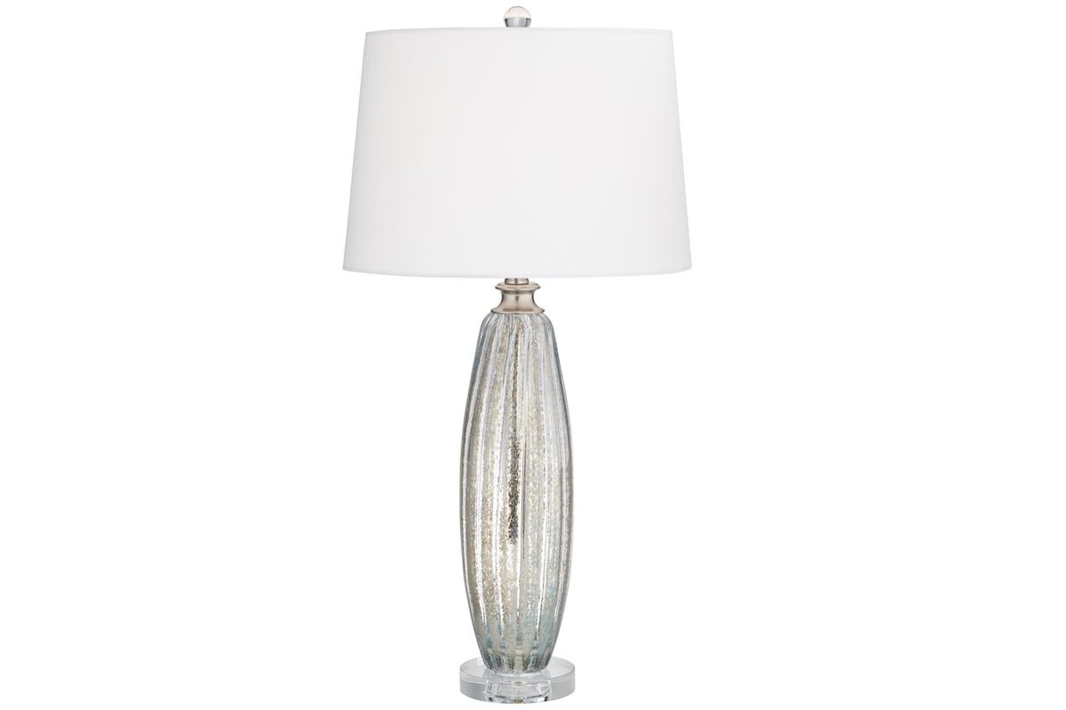 Champagne and Crystal Lamp - Set of 2 from Gardner-White Furniture