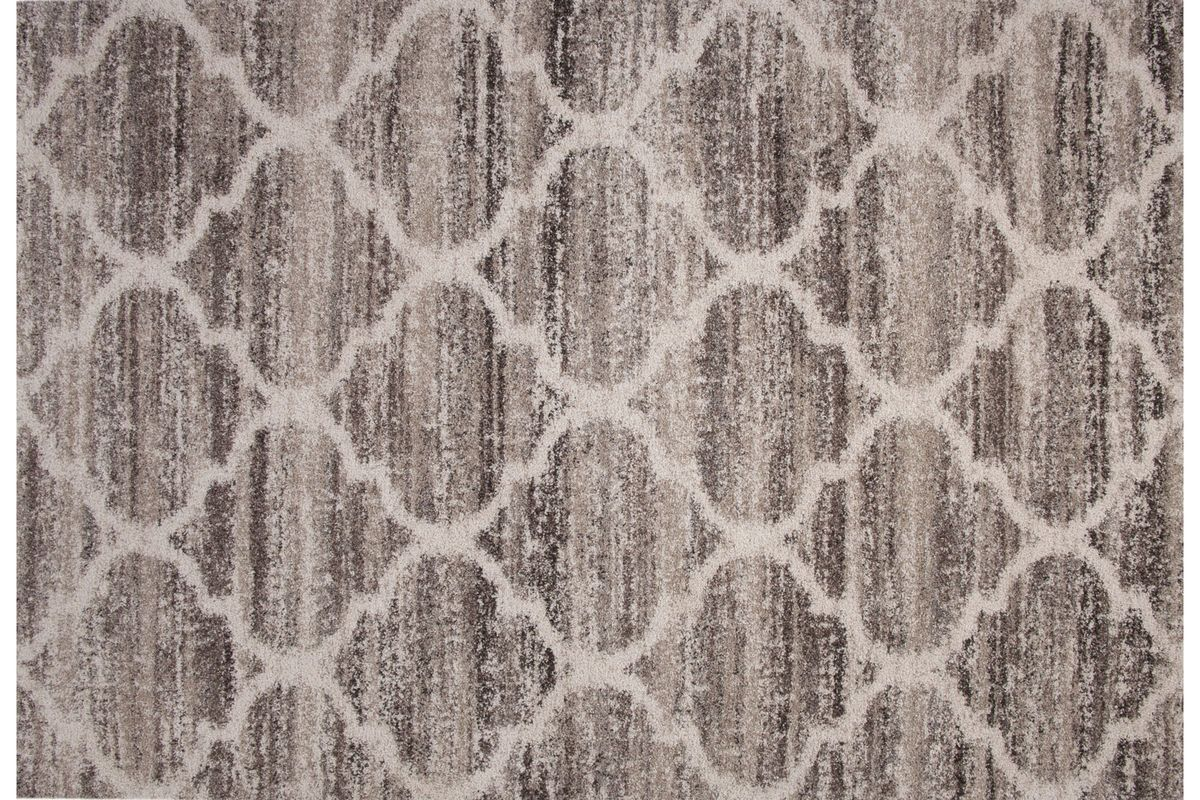 Lattice Grey 8x10 Shag Rug from Gardner-White Furniture